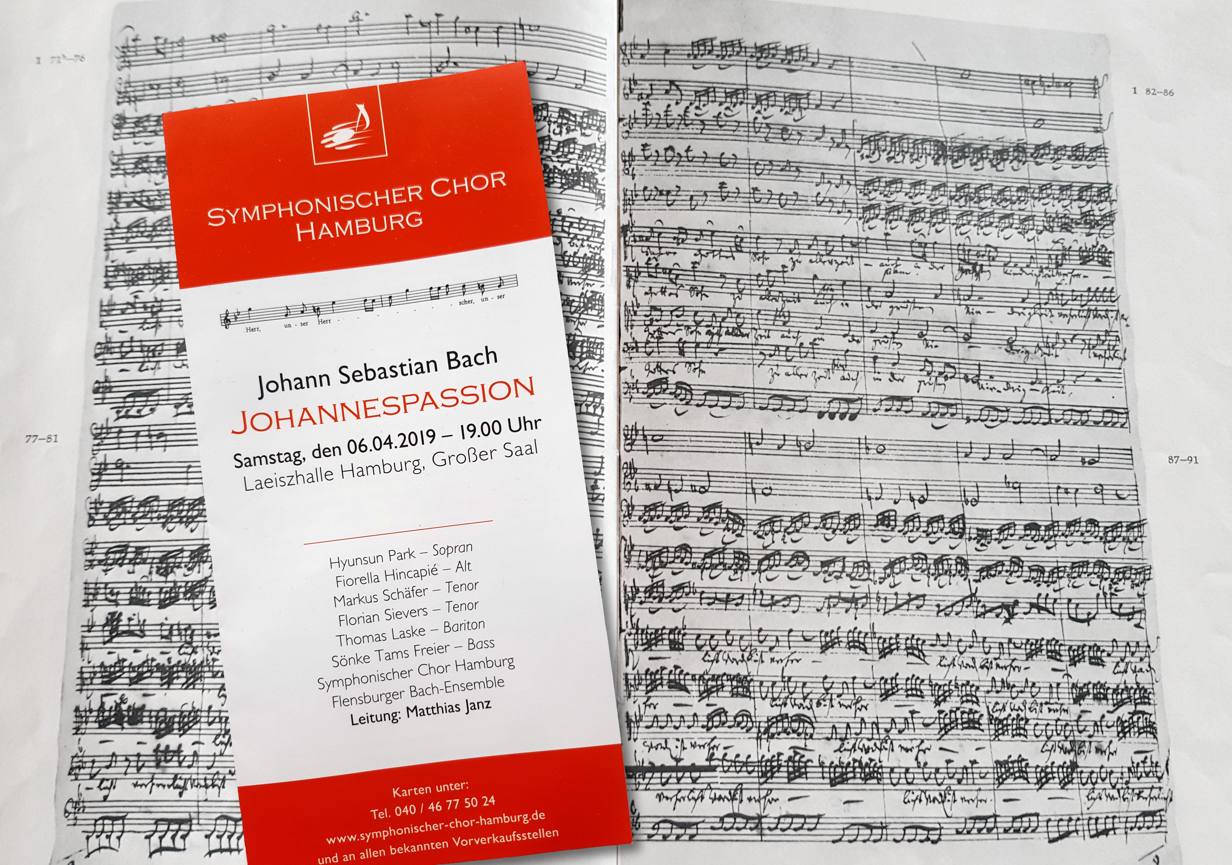 Vom Ohr ins Herz: Bachs Johannes-Passion
